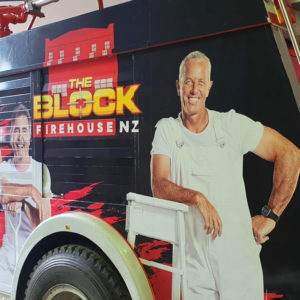 The Block NZ-Fire Engine Wrap