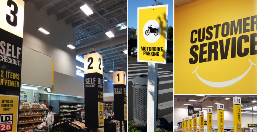 Pak n' Save Albany – Signage & Displays